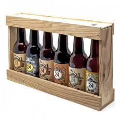 1/3 mètre bois de 6 Bières Brassée de Sarlat 6 x 33cl