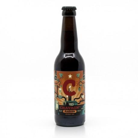 Bière ambrée de la brasserie de Chavagn 33cl
