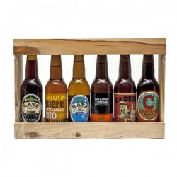 Lot de bières de micro-brasseries artisanales du Sud Ouest 6x33cl