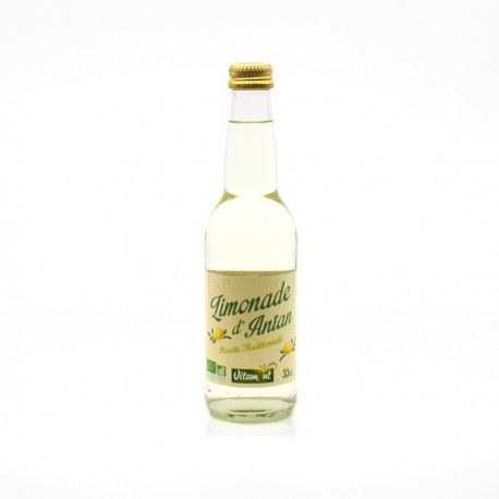 Limonade d'Antan Recette Traditionnelle BIO 33cl