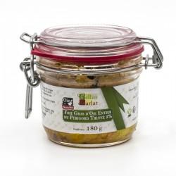 Bloc de Foie Gras d'Oie du Périgord Truffé 5% 180g