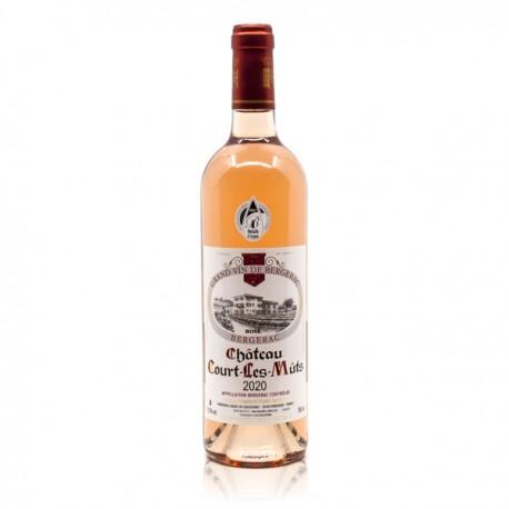 Château Court les Muts AOC Bergerac Rosé 2020, 75cl