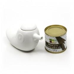 Cadeau de rapidité : sauce à la truffe d'été 5% 100g et son saucier