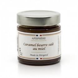 Caramel Beurre Salé au Miel du Périgord 200g