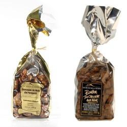 Lot de Noix au chocolat et noix grillées 2x200g