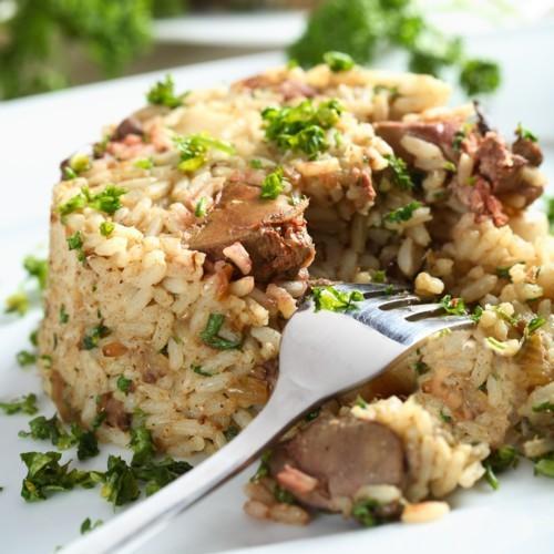 Risotto crémeux aux Cèpes et Foie gras 300g