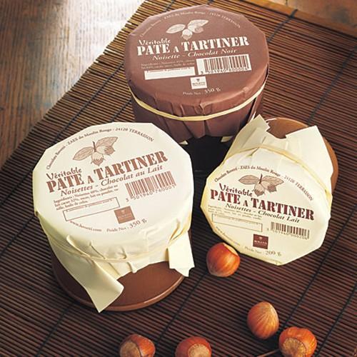 Pâte à Tartiner véritable aux Noisettes et Chocolat au Lait
