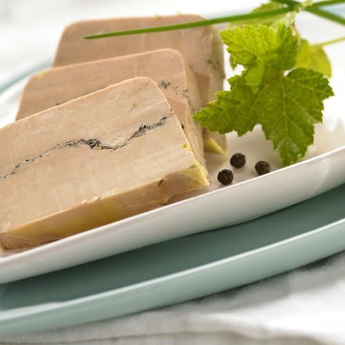 Foie gras entier de canard aux épices rares