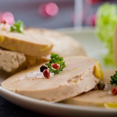 Douceur de Foie gras entier aux noix mi-cuit
