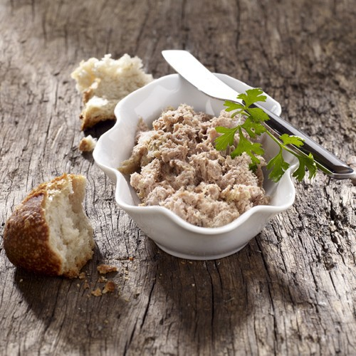 Rillette de Canard au foie gras 20%