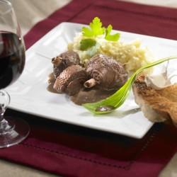 Civet d'Oie au Vin de Bergerac