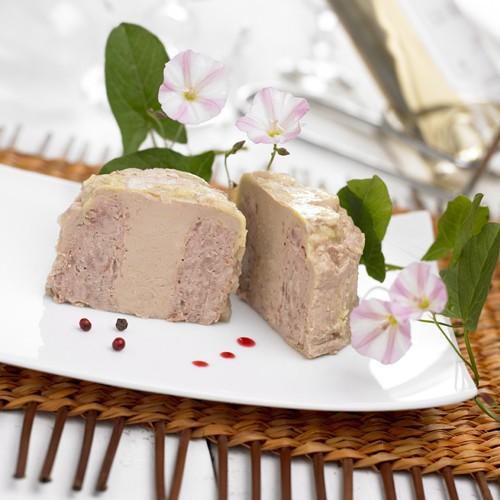 Papitou Pâté à 30% de Foie Gras de Canard