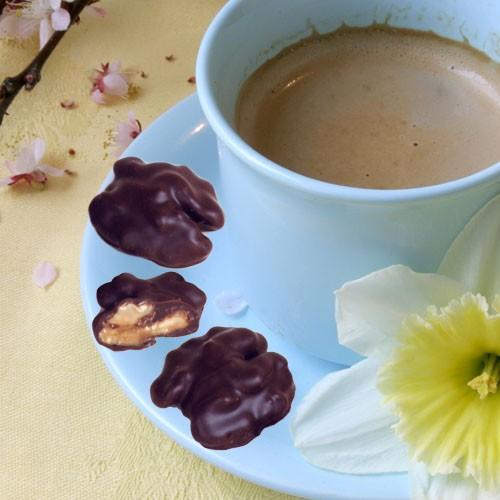 Nogaillous - Bonbons de Noix au Chocolat noir intense.