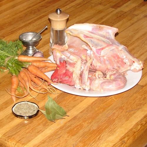 Ingrédients recette Fond de volaille