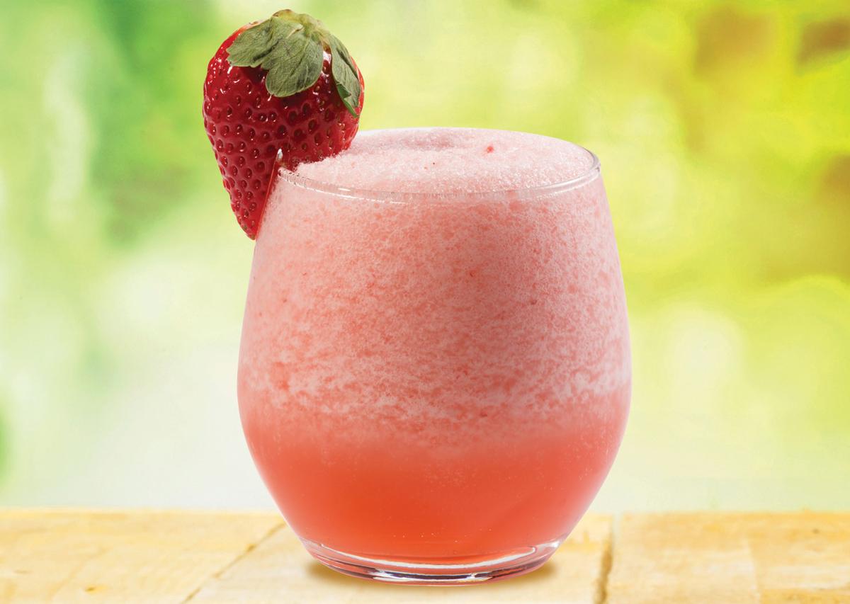 Recette du Frozé aux fraises