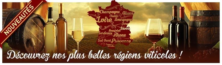 Découvrez nos plus belles régions viticoles !